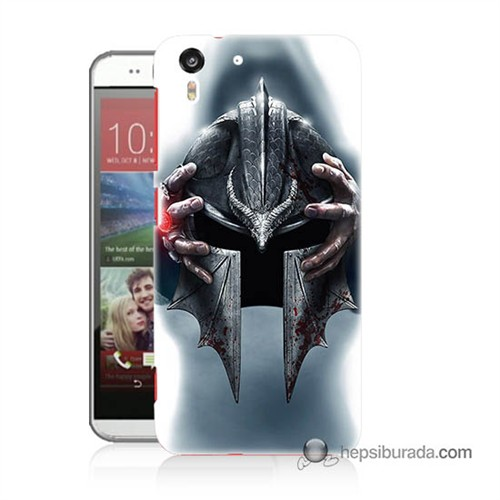 Teknomeg Htc Desire Eye Kılıf Kapak Assassins Creed Baskılı Silikon