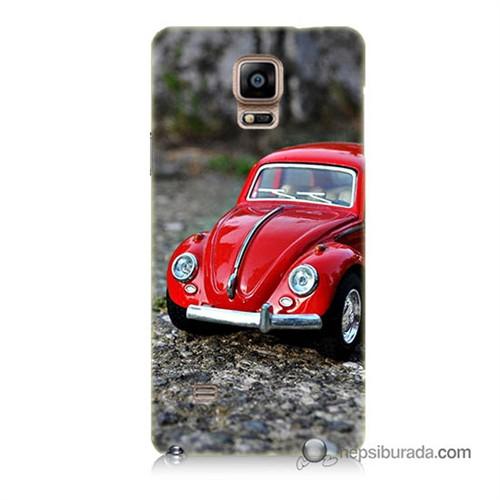 Teknomeg Samsung Galaxy Note 4 Kılıf Kapak Volkswagen Baskılı Silikon