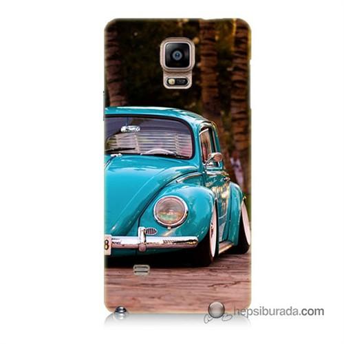 Teknomeg Samsung Galaxy Note 4 Kapak Kılıf Volkswagen Baskılı Silikon
