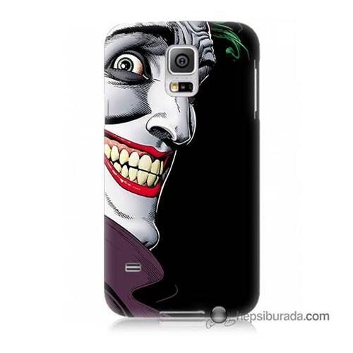 Teknomeg Samsung Galaxy S5 Kapak Kılıf Joker Baskılı Silikon