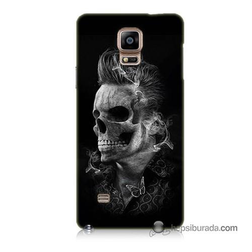 Teknomeg Samsung Galaxy Note 4 Kapak Kılıf Elvis Presley Efsanesi Baskılı Silikon