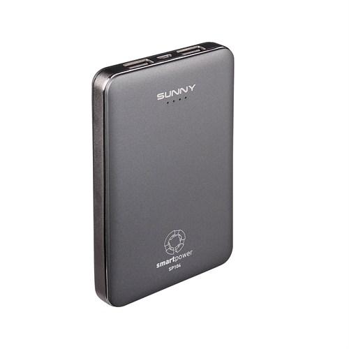 Sunny SP104 10400 mAh Taşınabilir Şarj Cihazı Anthracite Gri - SP104A