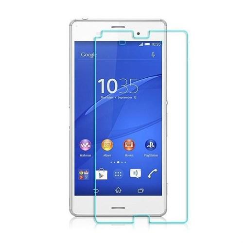 Teleplus Sony Xperia Z3 Plastik Ve Cam Karışımı Kırılmaz Ekran Koruyucu