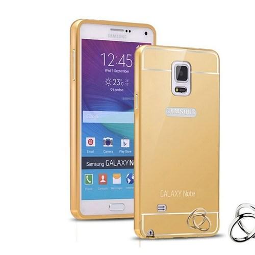 Teleplus Samsung Galaxy Note 3 Aynalı Metal Kapak Kılıf Gold