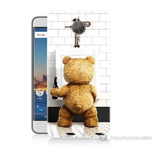 Teknomeg General Mobile Gm5 Plus Tedy Bear Baskılı Silikon Kılıf