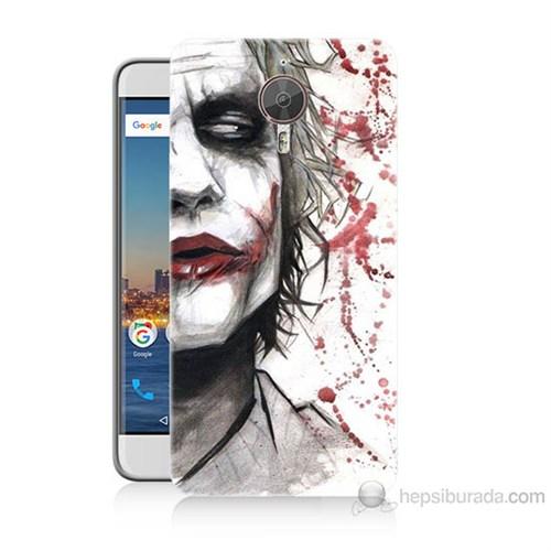Teknomeg General Mobile Gm5 Plus Kanlı Joker Baskılı Silikon Kılıf