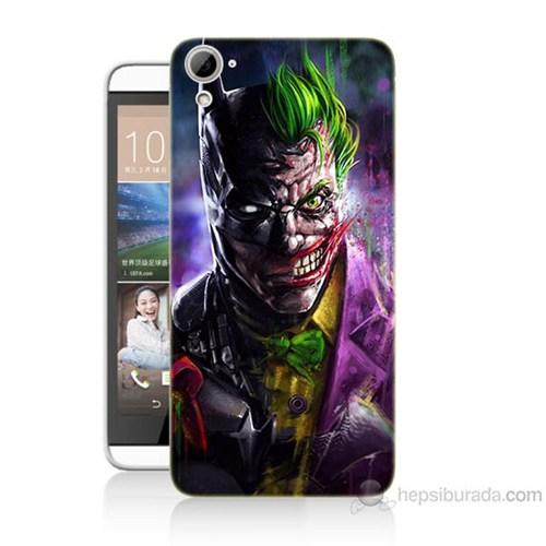 Teknomeg Htc Desire 826 Batman Vs Joker Baskılı Silikon Kılıf