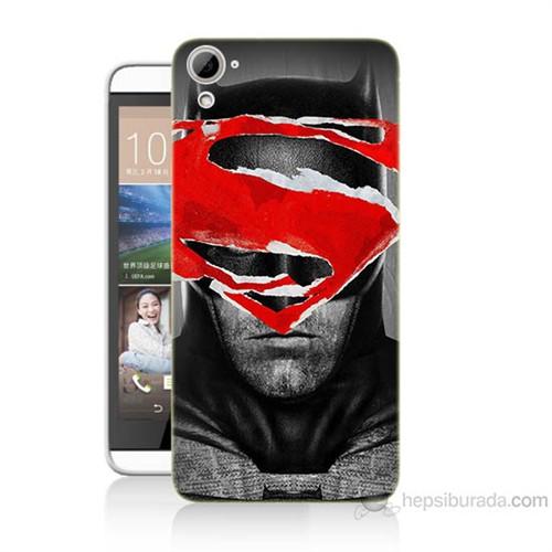 Teknomeg Htc Desire 826 Batman Vs Superman Baskılı Silikon Kılıf