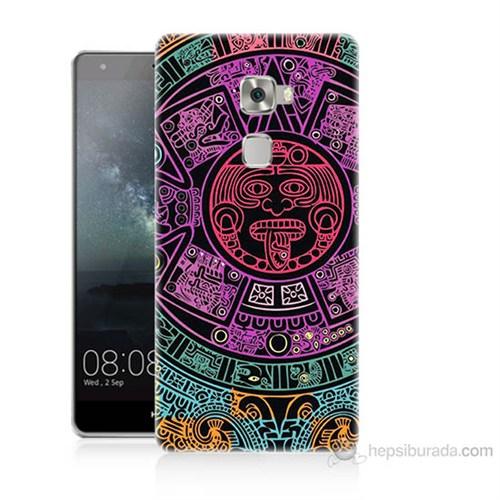 Teknomeg Huawei Ascend Mate S Mayalar Baskılı Silikon Kılıf