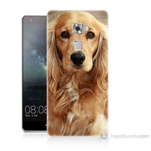 Teknomeg Huawei Ascend Mate S Köpek Baskılı Silikon Kılıf