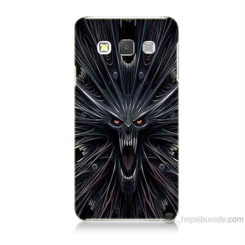 Teknomeg Samsung Galaxy A5 Korku Canavarı Baskılı Silikon Kılıf