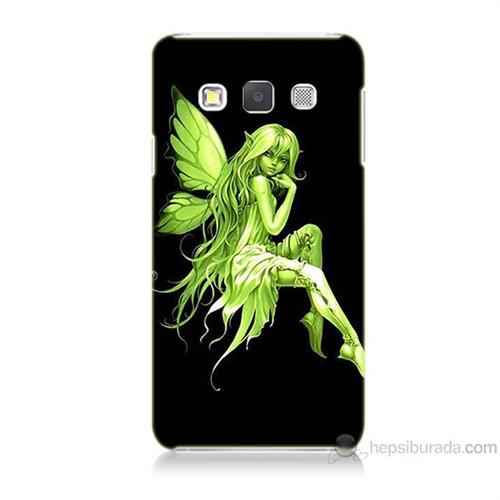 Teknomeg Samsung Galaxy A7 Peri Kızı Baskılı Silikon Kılıf