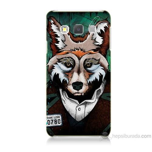 Teknomeg Samsung Galaxy A7 Bad Wolf Baskılı Silikon Kılıf