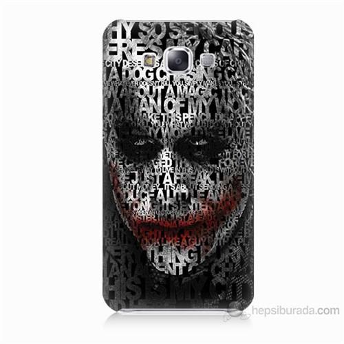 Teknomeg Samsung Galaxy E5 Joker Baskılı Silikon Kılıf