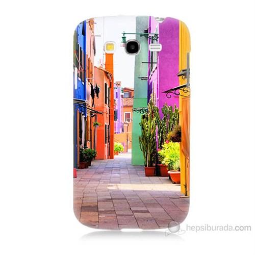 Teknomeg Samsung Galaxy Grand Duos İ9082 Sokak Baskılı Silikon Kılıf