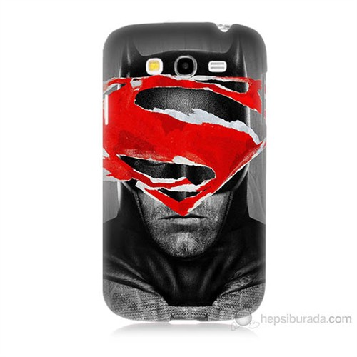 Teknomeg Samsung Galaxy Grand Duos İ9082 Batman Vs Superman Baskılı Silikon Kılıf