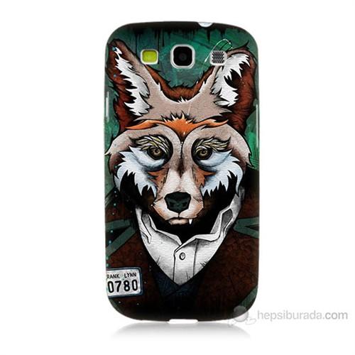 Teknomeg Samsung Galaxy S3 Bad Wolf Baskılı Silikon Kılıf