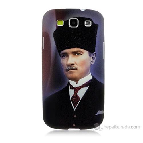 Teknomeg Samsung Galaxy S3 Mustafa Kemal Atatürk Baskılı Silikon Kılıf