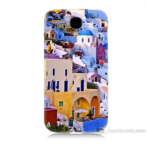 Teknomeg Samsung Galaxy S4 İbiza Baskılı Silikon Kılıf