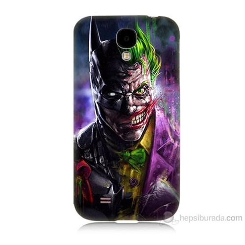 Teknomeg Samsung Galaxy S4 Batman Vs Joker Baskılı Silikon Kılıf