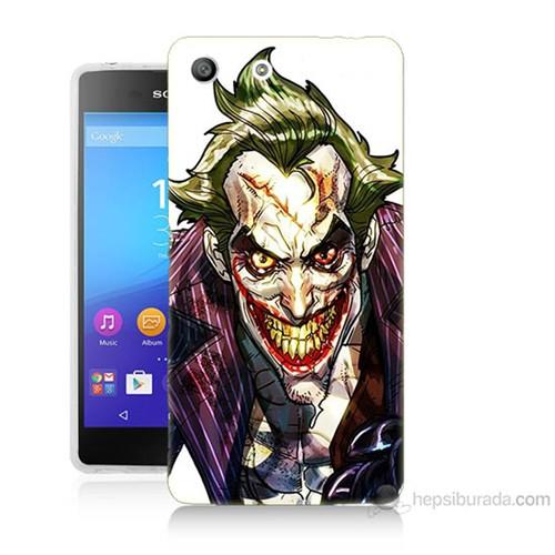 Teknomeg Sony Xperia M5 Joker Baskılı Silikon Kılıf
