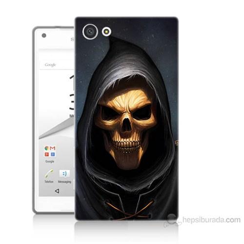 Teknomeg Sony Xperia Z5 Premium Ölüm Meleği Baskılı Silikon Kılıf