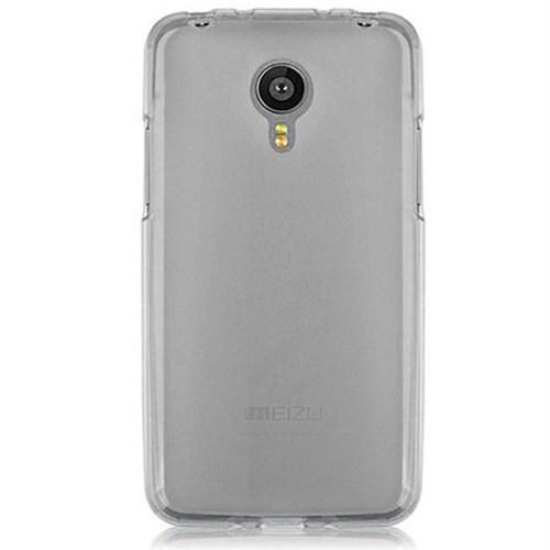 Cep Market Meizu M1 Note Kılıf 0.2Mm Antrasit Silikon
