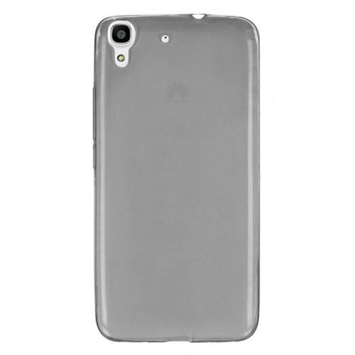 Cep Market Huawei Y6 Kılıf 0.2Mm Antrasit Silikon