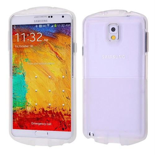 Ally Samsung Galaxy Note 3 N900 Şeffaf Silikon Kılıf
