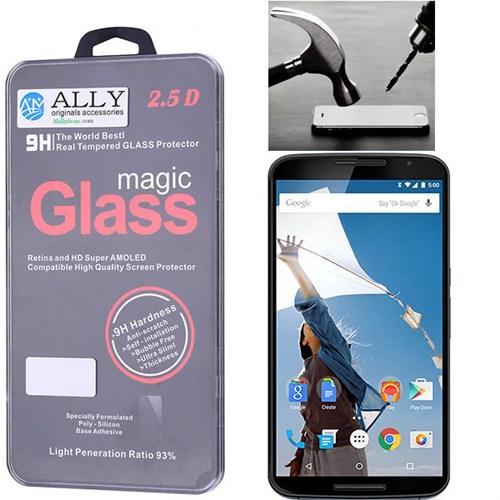 Ally Motorola Nexus 6 Kırılmaz Cam Ekran Koruyucu
