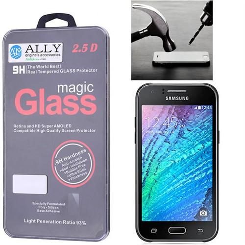 Ally Samsung Galaxy J1 J100 Kırılmaz Cam Ekran Koruyucu
