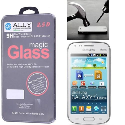 Ally Samsung Galaxy S Duos S7562 Kırılmaz Cam Ekran Koruyucu