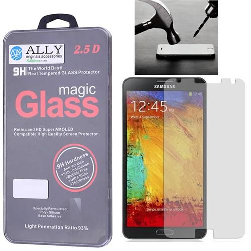 Ally Samsung Galaxy Note 3 Kırılmaz Cam Ekran Koruyucu