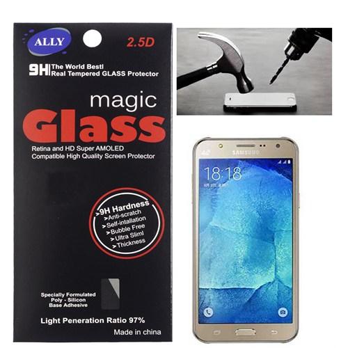 Ally Samsung Galaxy J2 J200 Kırılmaz Cam Ekran Koruyucu
