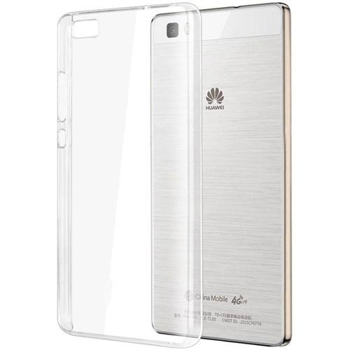 Microsonic Huawei P8 Lite Kılıf Kristal Şeffaf
