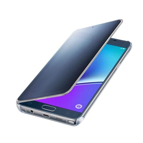 Samsung Galaxy Note5 S-View Flip Cover Clear Siyah Sapphire - Ef-Zn920cbegus