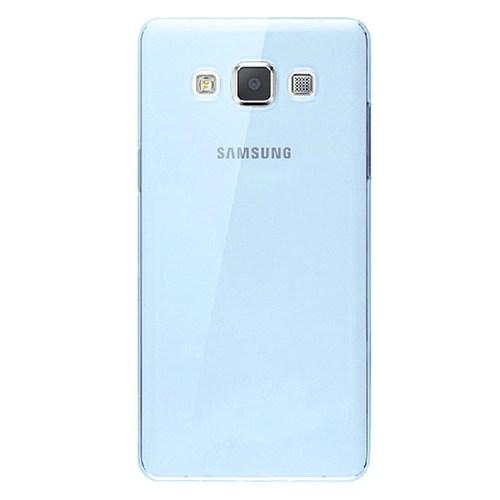 Cepsesuar Samsung Galaxy A7 Kılıf Silikon 0.2 Mm Mavi