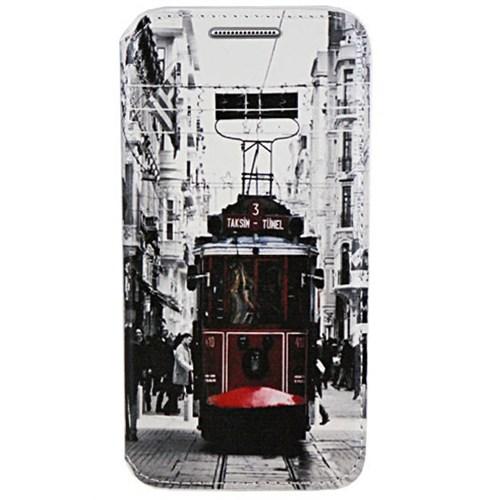 Cepsesuar Samsung Galaxy Note 5 Kılıf Standlı Tramvay