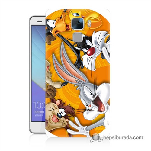 Teknomeg Huawei Honor 7 Kapak Kılıf Disney Karakterleri Baskılı Silikon