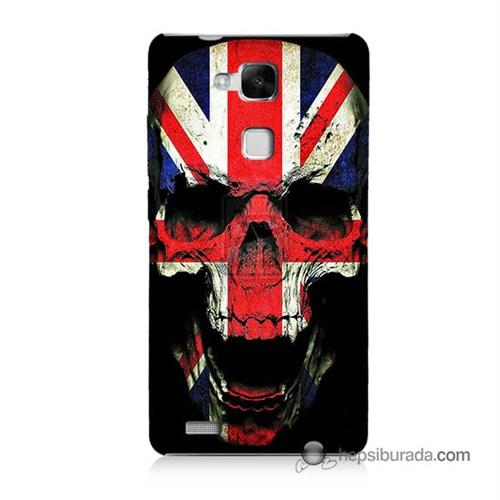 Teknomeg Huawei Mate 7 Kapak Kılıf İngiltere Baskılı Silikon