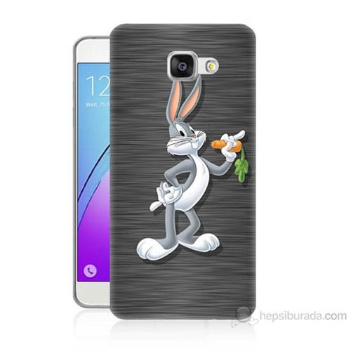 Teknomeg Samsung Galaxy A7 2016 Kapak Kılıf Bugs Bunny Baskılı Silikon