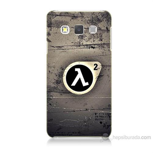 Teknomeg Samsung Galaxy A7 Kapak Kılıf Half Life Baskılı Silikon