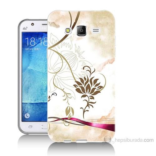 Teknomeg Samsung Galaxy J7 Kapak Kılıf İmagine Baskılı Silikon