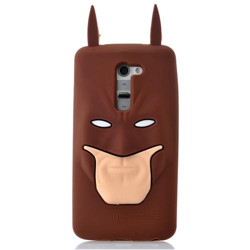 Coverzone Lg G2 Kılıf Silikon Süper Kahraman