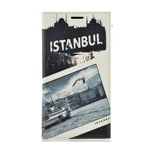 Coverzone Samsung Galaxy Note 4 Kılıf Kapaklı İstanbul