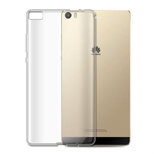 Teleplus Huawei P8 Max Silikon Kılıf Şeffaf