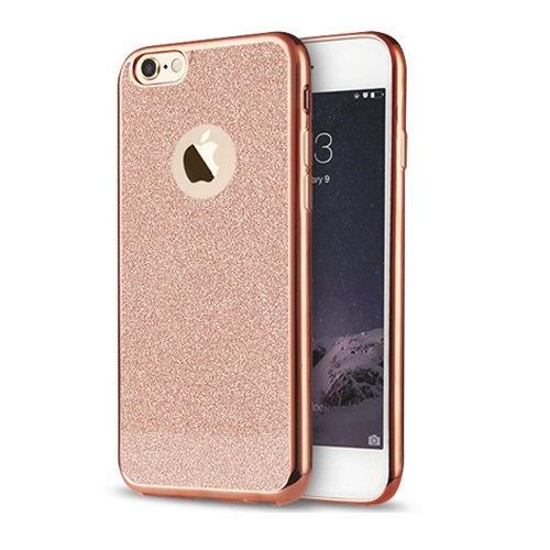 Markaavm Apple iPhone 6 6S Kılıf Simli Silikon
