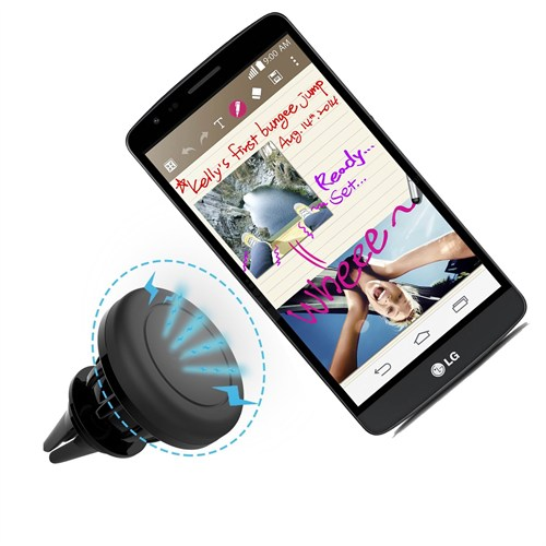 Melefoni Lg G3 Stylus Manyetik Araç İçi Telefon Tutucu