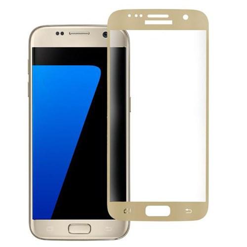 Bufalo Samsung S7 Cam Ekran Koruyucu Gold