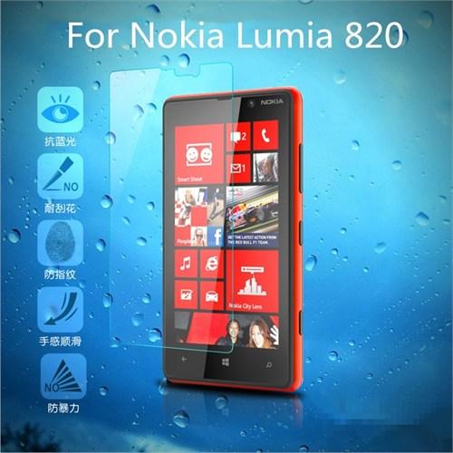 Duck Nokia Lumia 820 Kırılmaz Cam Ekran Koruyucu